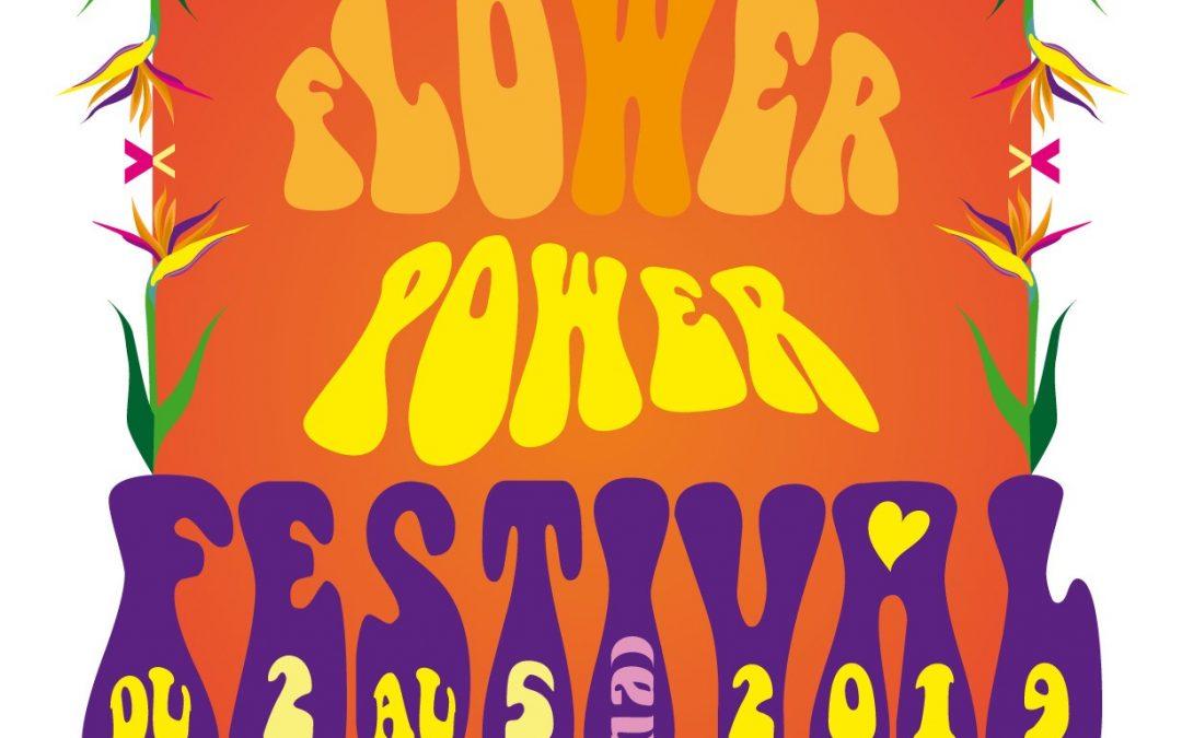 Festival flower power du 2 au 5 mai 2019 dans le centre-ville d'Avignon
